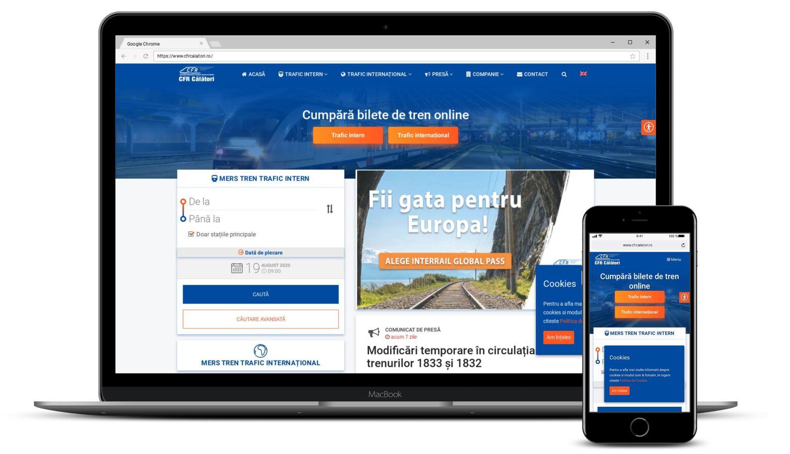 Mentenanta Website