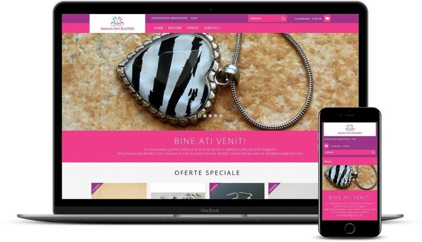 Realizare site magazin online bijuterii