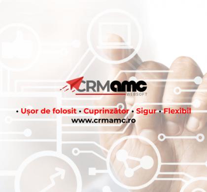 Am lansat platforma CRM AMC