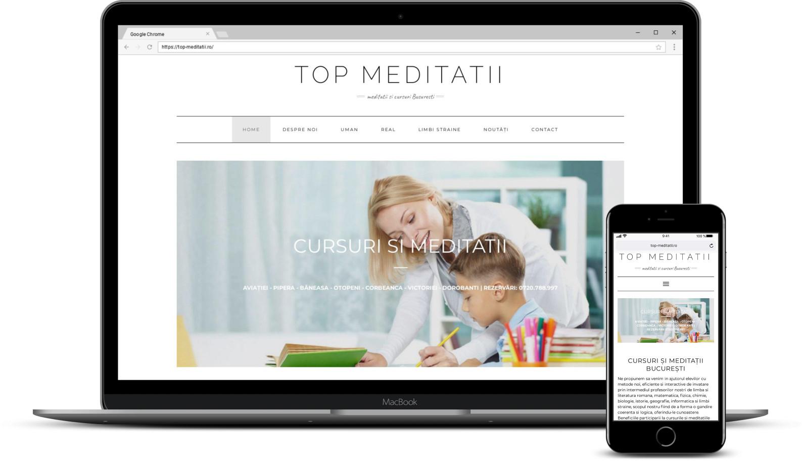 Modificare site meditatii Bucuresti