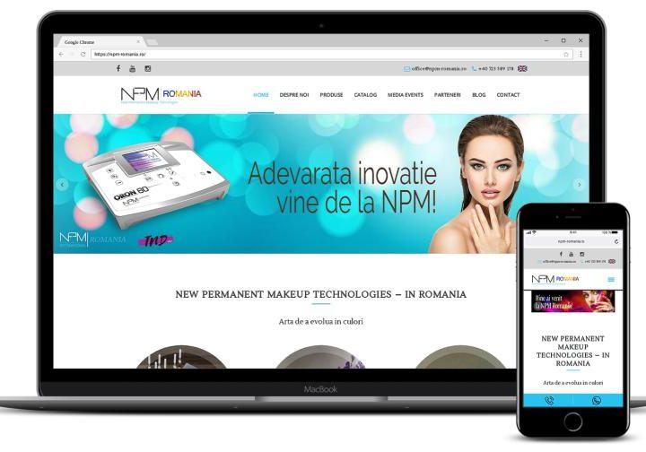 Realizare magazin online produse MakeUp