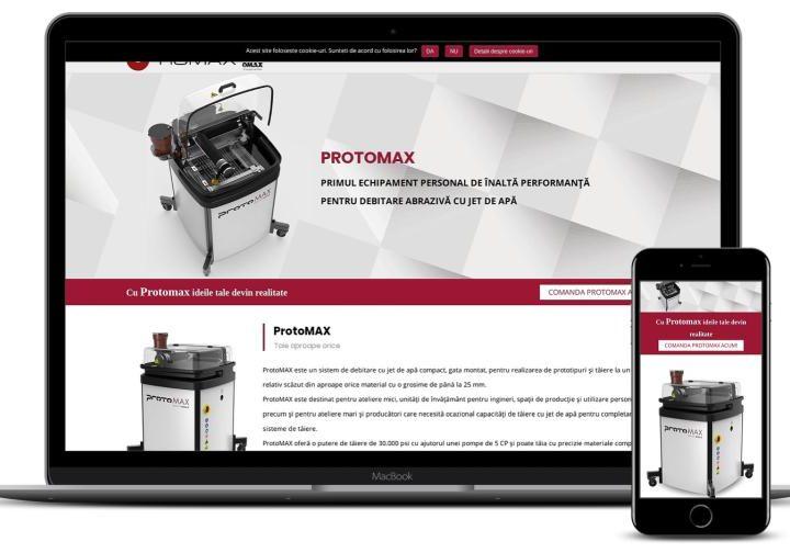 Creare magazin online produse industriale