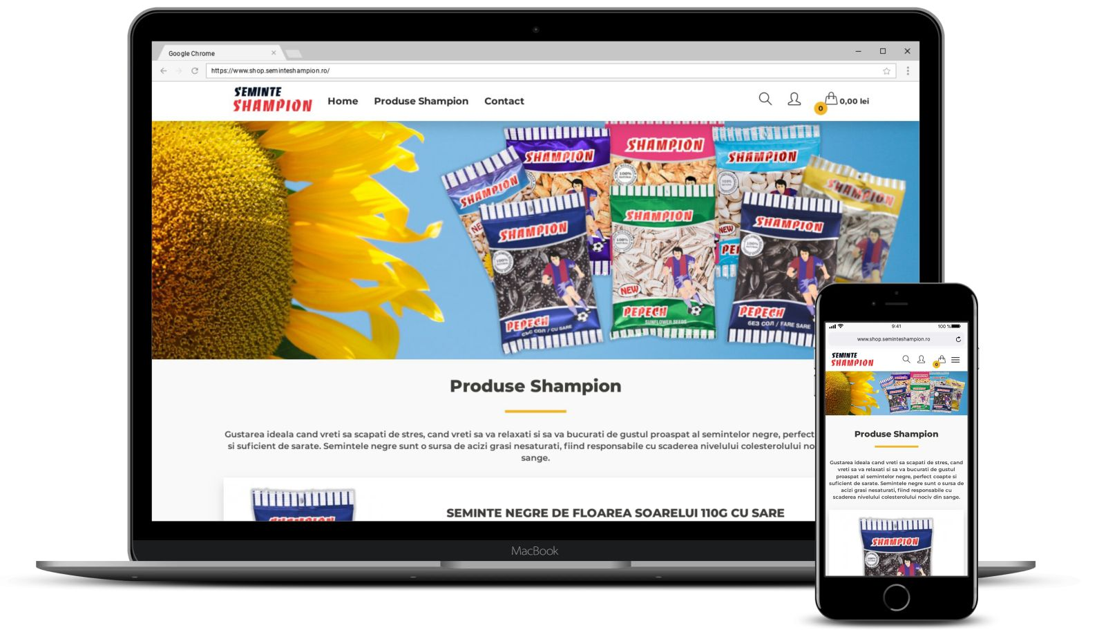 Magazin Online cu Seminte