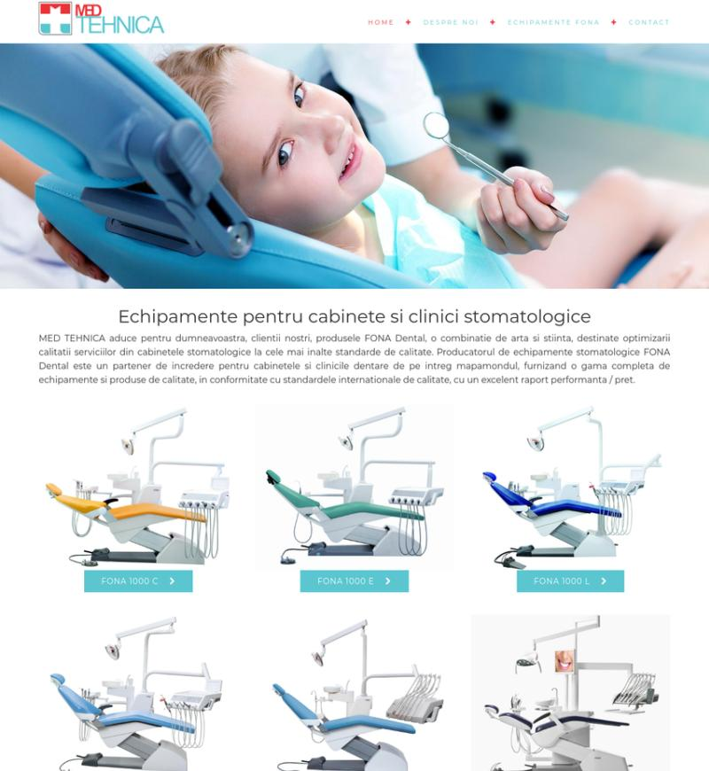 Creare site-uri pentru cabinete medicale