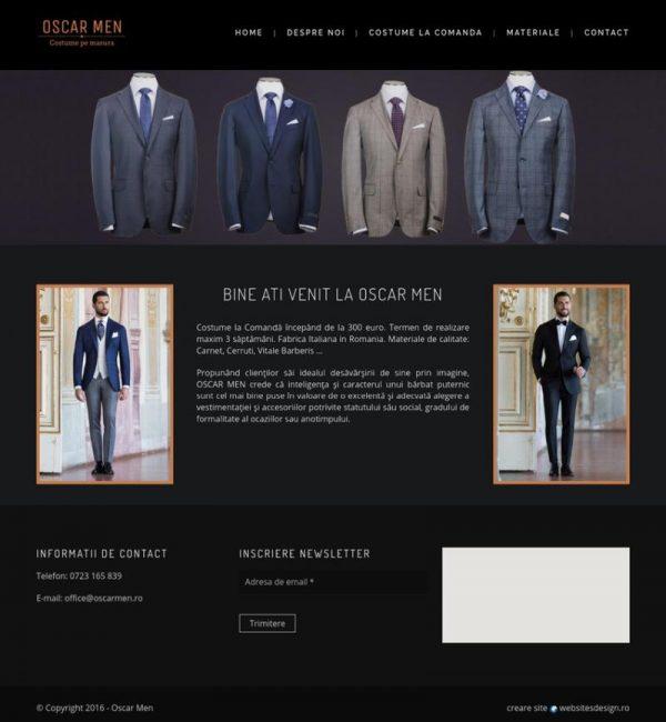 Realizare site creatie vestimentara